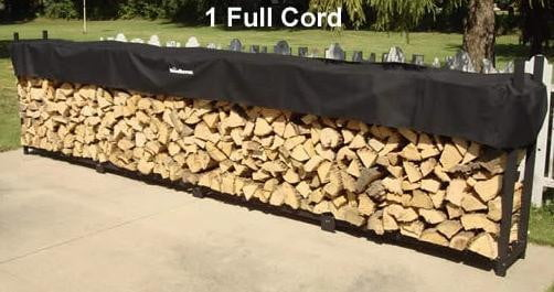 1 Cord Woodhaven® Firewood Rack and Standard Cover
