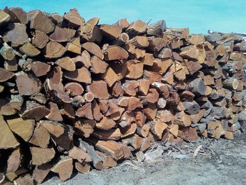 Heating hedge Osage orange firewood logs wood stoves