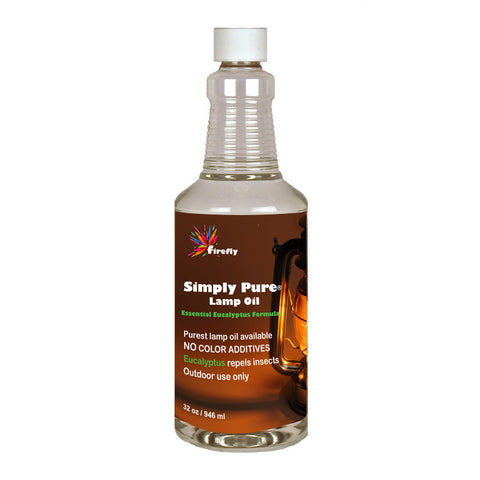 Simply Pure Lamp Oil with Eucalyptus 32oz
