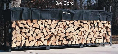 3/4 Cord Woodhaven® Firewood Rack AND Cover