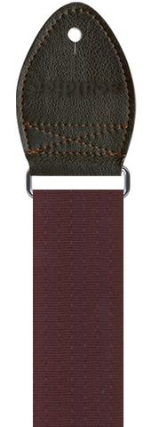 STRAP Banjo Plain Seat Belt Burgandy Souldier
