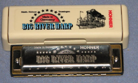HARMONICA Big River Key: G