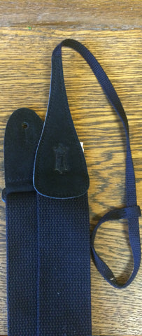 "STRAP Dobro 2"" Black Cotton Levy's"