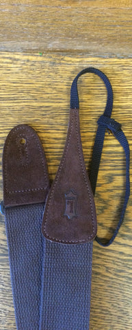 "STRAP Dobro 2"" Brown Cotton Levy's"