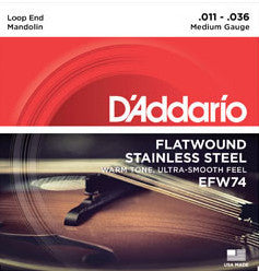 STR MD flatwound med D'addario EFW74