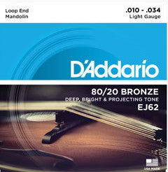 STR MD light 80/20 Bronze D'addario EJ62