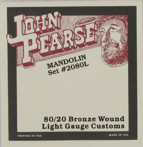 STR MD 80/20 Bronze Light Customs 2080L John Pearse