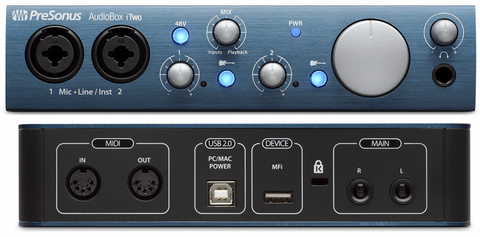 INTERFACE Recording iPad AudioBox iTwo Presonus