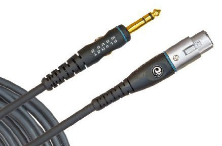 "CABLE Mic 1/4"" to XLR 25' CS D'Addario PW"