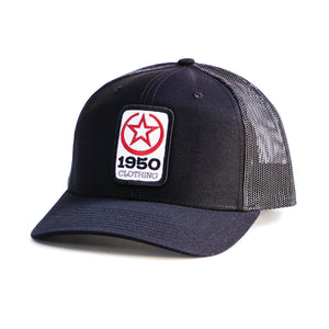 1950 Clothing Co Hat (Black)