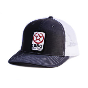 1950 Clothing Co Hat (Grey/White)