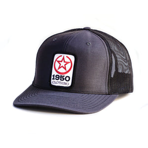 1950 Clothing Co Hat (Charcoal/Black)