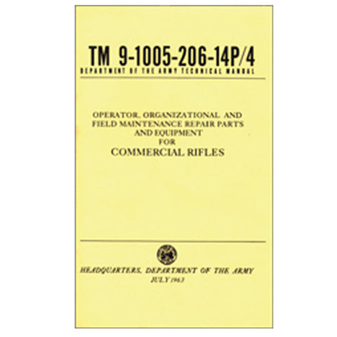 Commercial Rifles (TM 9-1005-206-14P/4)