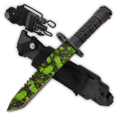 14 Inch Undead Slayer Bayonet (AR-15 Style) [Undead/Serrated]