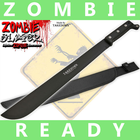 19 Inch Takedown Undead Slayer Machete (Dark Warrior)