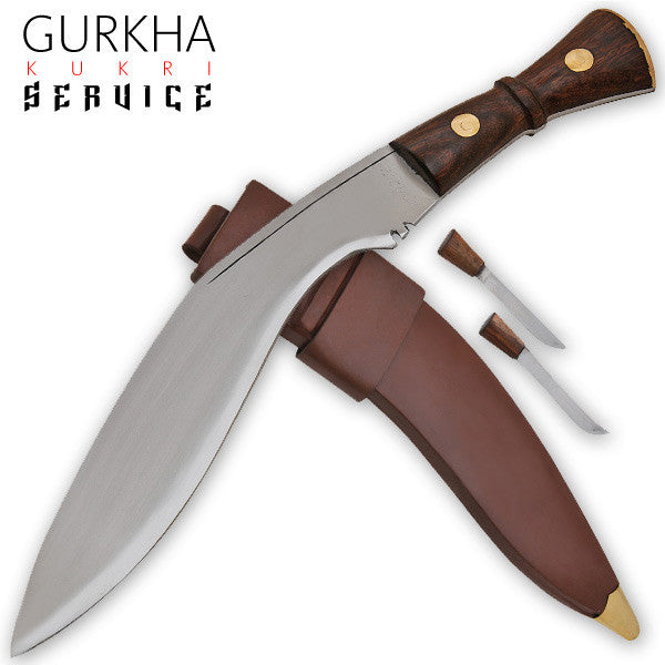 Gurkha Kukri Service Machete (Brown)