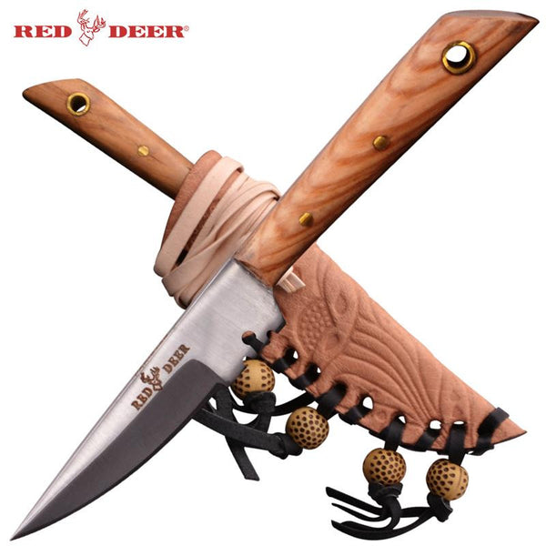 Red Deer® Patch Knife (Olive Wood) Small Size