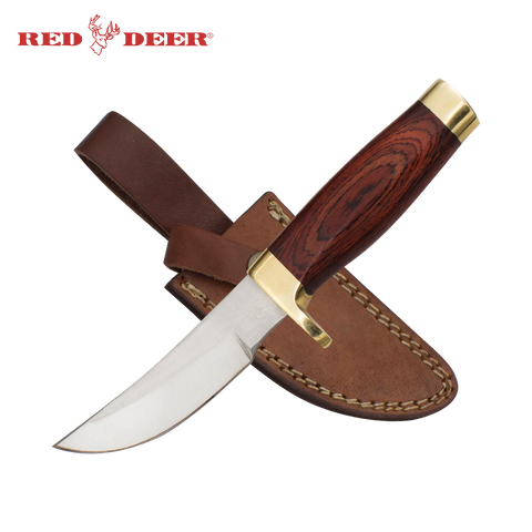 9.5 in Red Deer® Rosewood Handle Hunting Knife