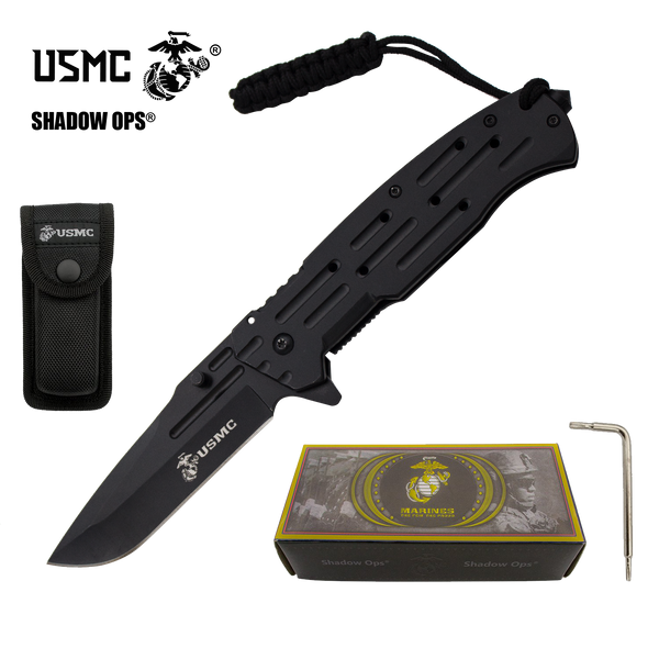 Co'Ops Flip USMC Officially Licensed Folding Knife by Shadow Ops®