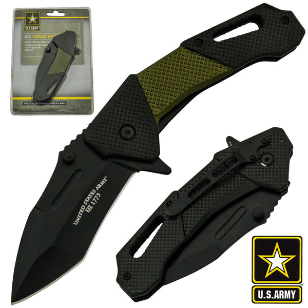 U.S. Army Official Trigger Action Tactical Knife