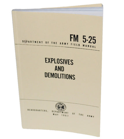Explosives and Demolitions FM