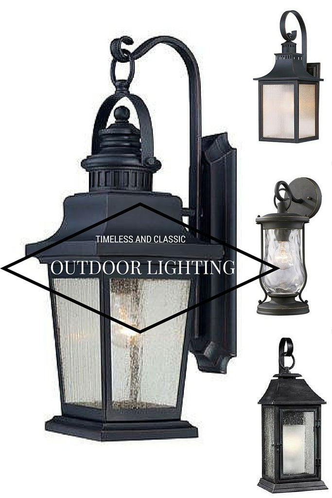 Classic and Timeless Outdoor Lighting