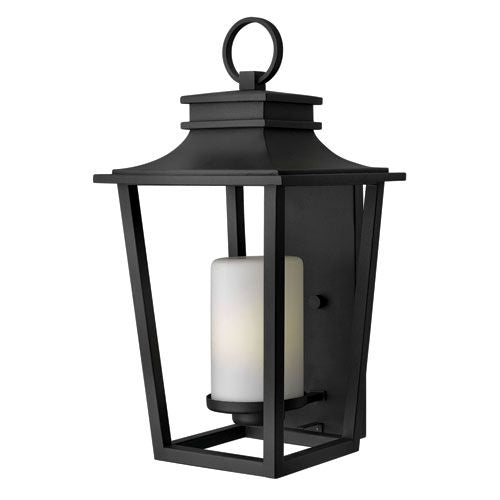 Hinkley Sullivan Black Large Outdoor Wall Light