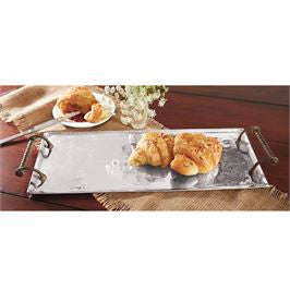 French Metal Tray - Bleu Spruce  - 2