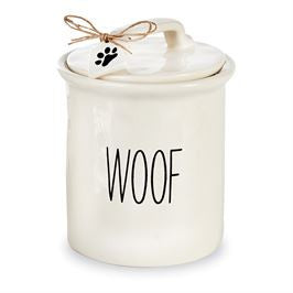 Dog Treat Canister - Bleu Spruce