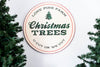 U-Cut or We-Cut Christmas Tree Sign - Bleu Spruce
