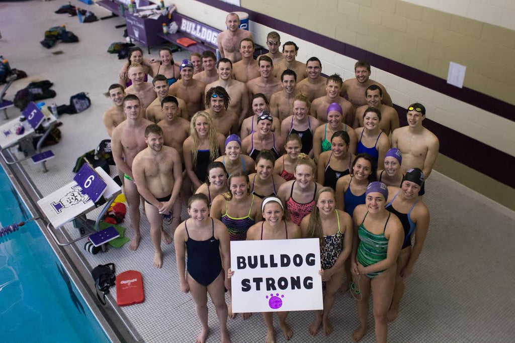 Missouri's Truman State University Swim Team: We are Bulldog Strong and We Fight Together