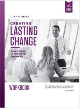 Creating lasting change learn how to empower others tony robbins content samples fandeluxe Images
