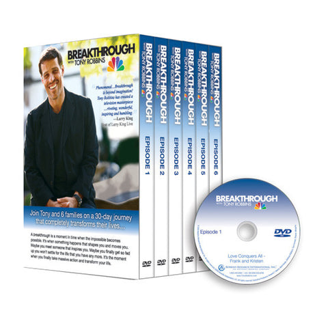 Breakthrough with Tony Robbins DVD Box Set