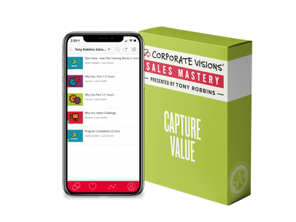 Sales Mastery-Capture Value Skills Training