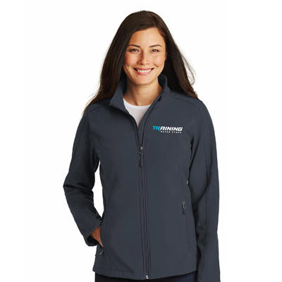Grey Fleece Trainer Jacket For Women