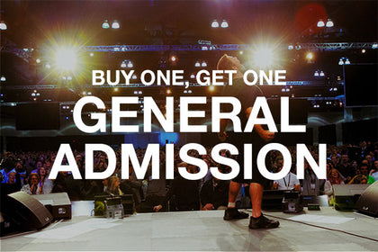 UPW General Admission BOGO-SAN JOSE