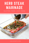 Easy Herb Steak Marinade