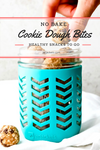 No Bake Cookie Dough Bites