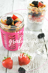 Layered Chia Pudding with Fruit, Coconut & Cashews