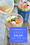 Make ahead 'Layer-n-Lunch' Greek Salad