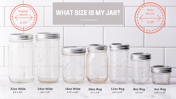 mason jar protectors what size