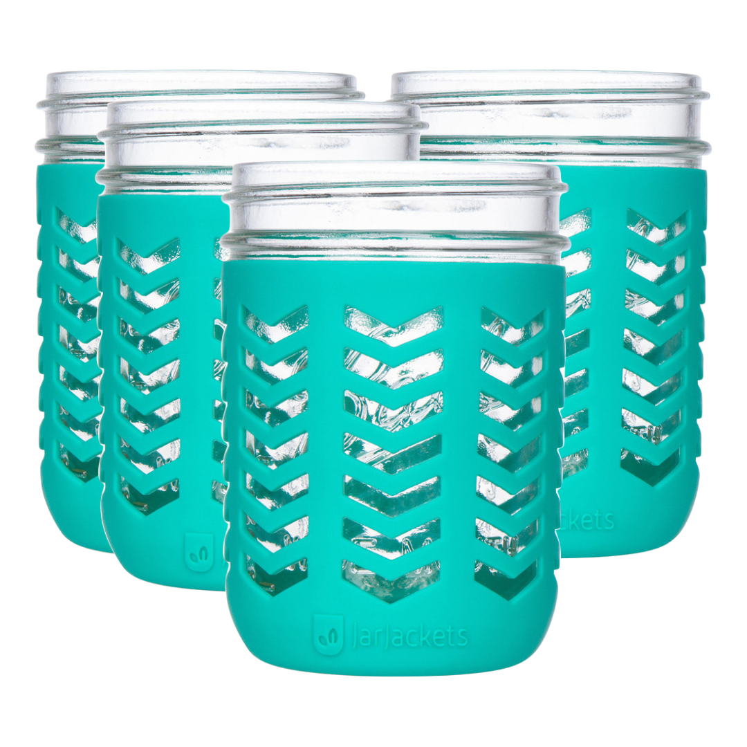 silicone mason jar sleeves for 16oz wide mouth jars