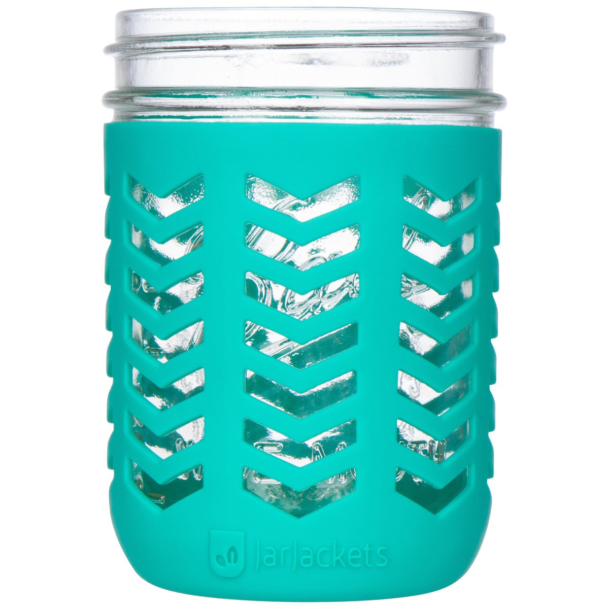 protect mason jar with silicone sleeves pint size wide mouth