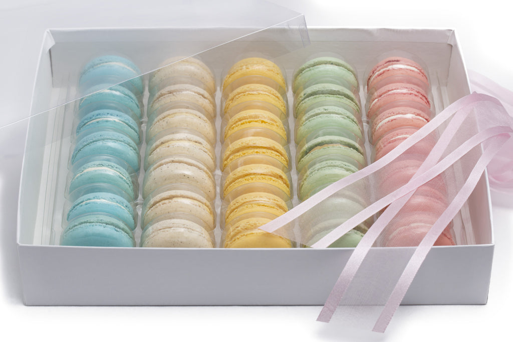 Gift box of 35 macarons, Selection A