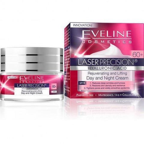 Eveline Laser Precision - Face styling Super lifting Day and Night Cream Concentrate 60+ - The Original Helia-D Online Store since 2001