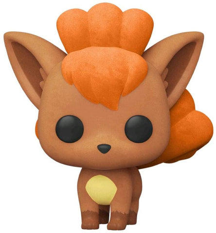 Funko Pop! Pokemon #580 Flocked Vulpix + Pop Protector