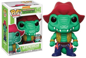 Funko Teenage Mutant Ninja Turtles Leatherhead Vinyl Figure 543 + Pop Protector