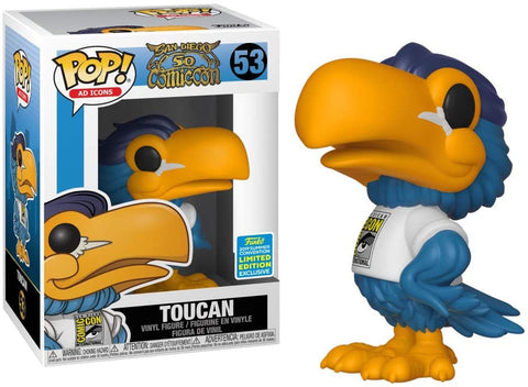 Funko Pop! Ad Icons: San Diego Comic Con 50 - Toucan