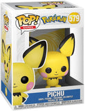 Pokemon Pichu Pop! Vinyl Figure #579 + Pop Protector