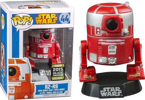 Funko Star Wars R2-R9 Pop Vinyl Figure (Galactic Convention) + Pop Protector